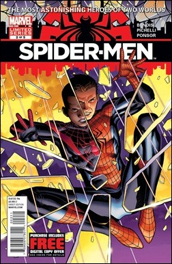 Spider-Men #2 cover