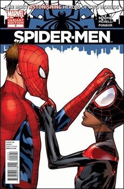 Spider-Men #2 cover Pichelli Variant