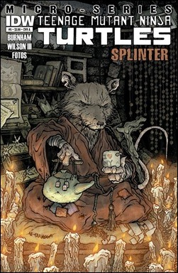 TMNT Microseries #5: Splinter cover