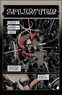 TMNT Microseries #5: Splinter preview 2
