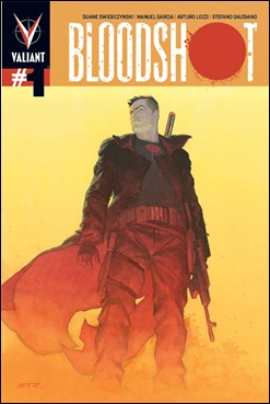 Bloodshot #1 cover Ribic Variant