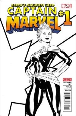 Captain Marvel #1 Second Print