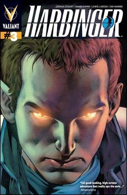 Harbinger #3 cover