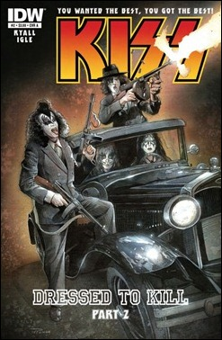 Kiss #2 cover