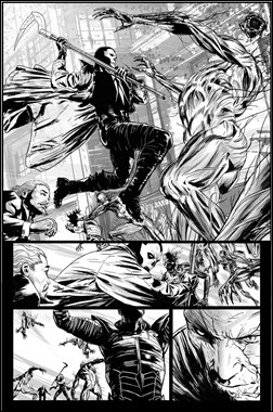 Shadowman #1 preview 4