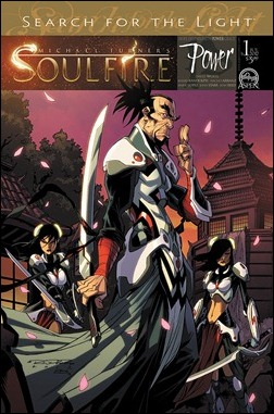 Soulfire: Power #1 cover B Randolph