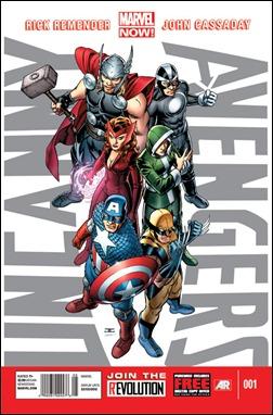 Uncanny Avengers #1 Cover by John Cassaday