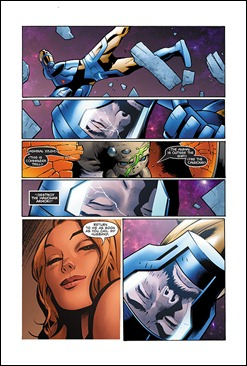 X-O Manowar #3 preview 4