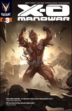 X-O Manowar #3 cover