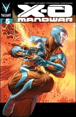 X-O Manowar #5 Zircher variant cover A
