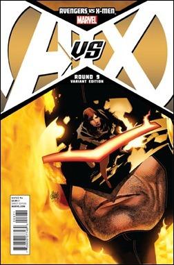 Avengers vs X-Men #9 Kubert Variant cover