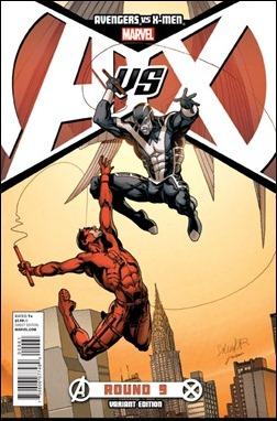 Avengers vs X-Men #9 Larroca Variant cover