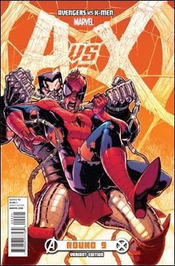 Avengers vs X-Men #9 Stegman Variant cover