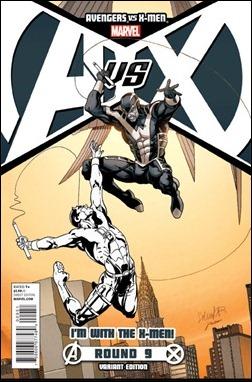 Avengers vs X-Men #9 Team X-Men Variant cover