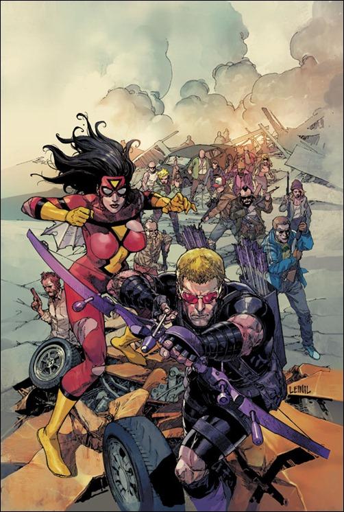 Avengers #30 Cover