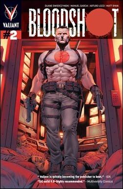 Bloodshot #2 Cover