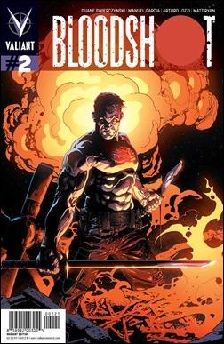 Bloodshot #2 Brase Variant Cover