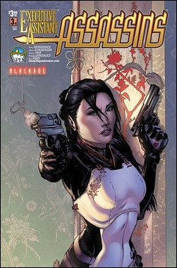 Executive Assistant: Assassins #3 Konat Cover