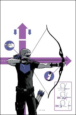 Hawkeye #2 cover