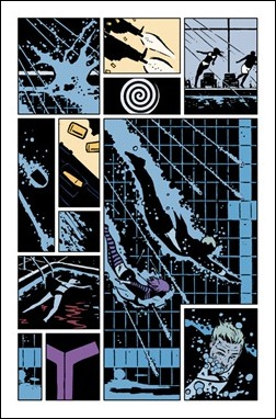 Hawkeye #2 preview 1