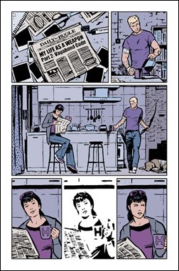 Hawkeye #2 preview 2