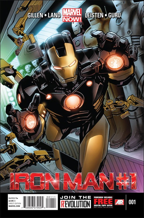 Iron Man #1 - Marvel Now!