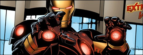 Iron Man #1 by Greg Land