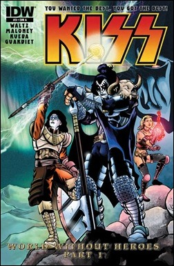 Kiss #3 Cover