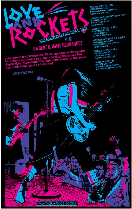 Love and Rockets 30th Anniversary Northeast Tour