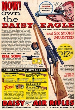 Daisy Eagle Air Rifle Ad