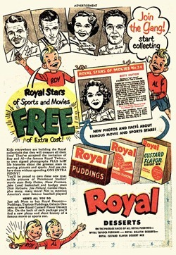 Royal Pudding Ad