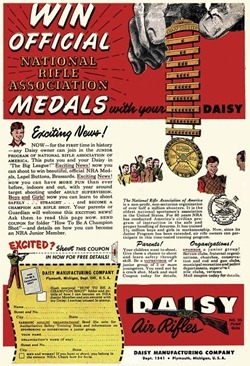 Daisy Air Rifles Ad