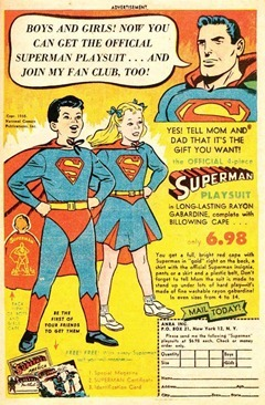 Superman Playsuit Ad