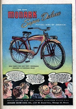 Monarch Super Deluxe Bike Ad