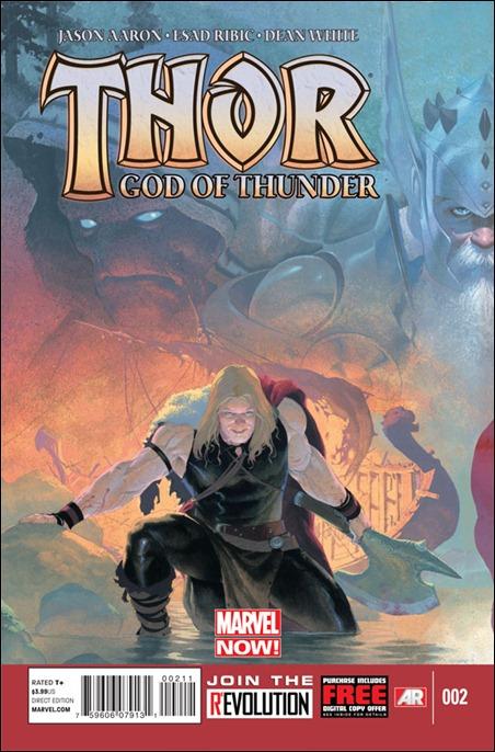 Thor: God of Thunder #2 cover