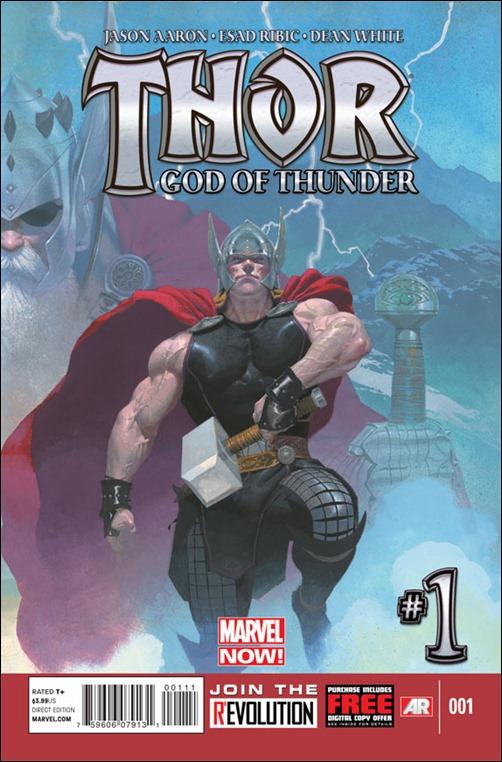 Thor: God Of Thunder #1 Cover