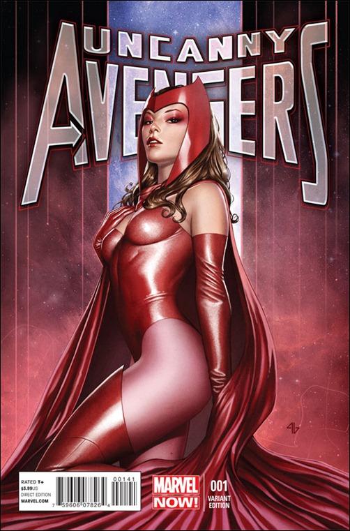 Uncanny Avengers #1 Variant Granov Cover