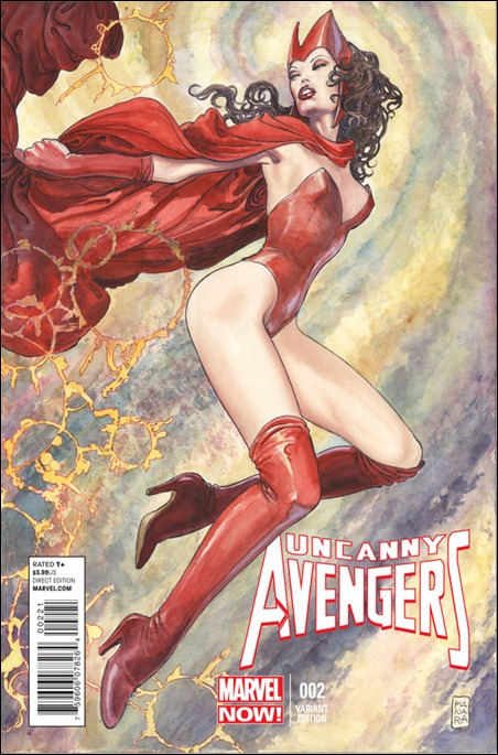 Uncanny Avengers #2 Milo Manara Variant Cover