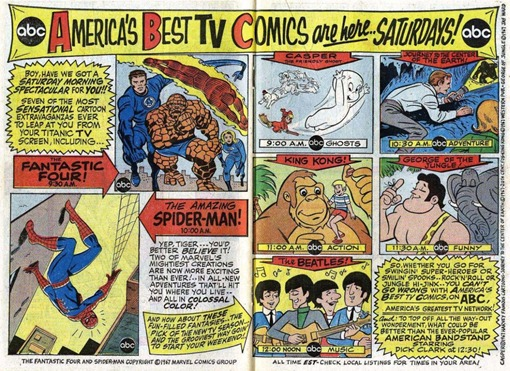 ABC Saturday Morning Cartoons Ad
