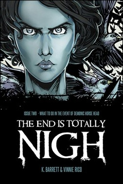 The End is Totally Nigh #2 cover