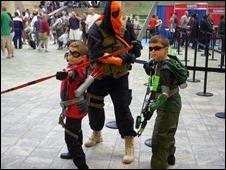 Speedy, Deathstroke, Green Arrow