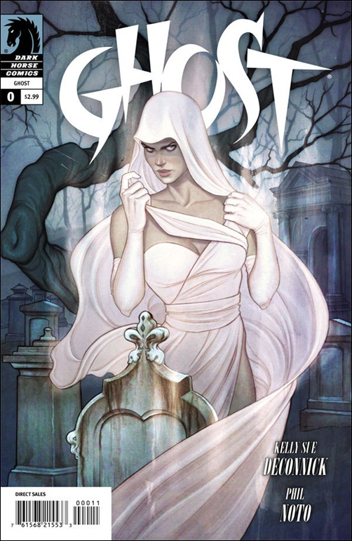 Ghost #0 Cover