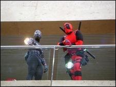 Black Suit Spider-Man & Deadpool