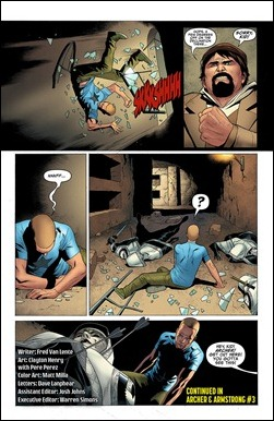 Archer and Armstrong #3 Preview 4