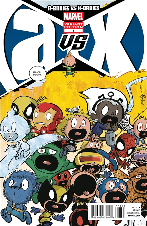 A-Babies vs. X-Babies #1 Cover - Eliopoulos Variant