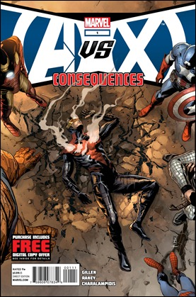 Avengers vs. X-Men: Consequences #1 Cover