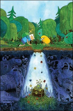 Adventure Time #8 Cover D