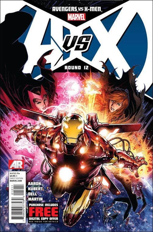 Avengers vs X-Men #12 cover