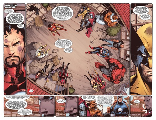 Avengers vs X-Men #12 Preview 1