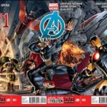 Avengers #1-3 Connecting Covers By Dustin Weaver Revealed